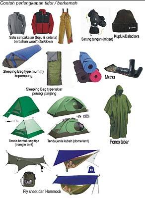 Peralatan Pendakian Gunung